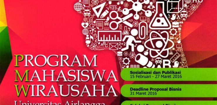Program Mahasiswa Wirausaha Universitas Airlangga 2016