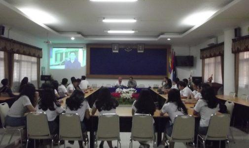 Kunjungan SMA Bakti Mulya 400 Jakarta