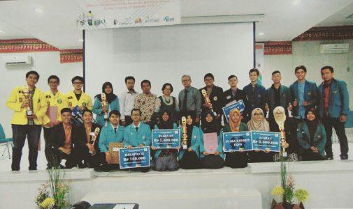 Prestasi Gemilang Mahasiswa S1 Kimia di Pekan Ilmiah Nasional Universitas Lampung 2016