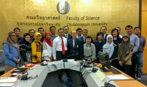 Jalinan Kerja Sama antara Fakultas Sains dan Teknologi, Universitas Airlangga dengan Faculty of Science, Chulalongkorn University