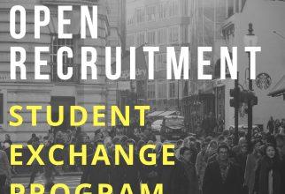 OPEN RECRUITMENT PROGRAM STUDENT EXCHANGE 2017