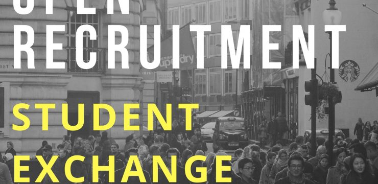 OPEN RECRUITMENT PROGRAM STUDENT EXCHANGE 2017