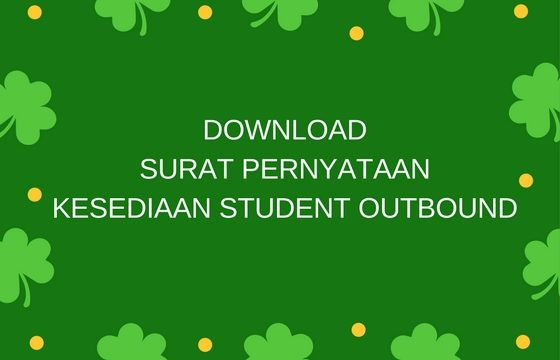 Download Surat Pernyataan Kesediaan Student Outbound