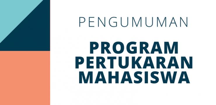 Program Pertukaran untuk Mahasiswa