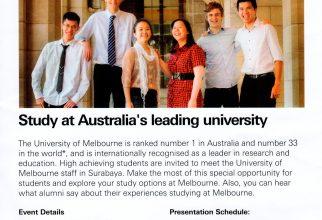 AUSTRALIA'S UNIVERSITY EDUCATION FAIR