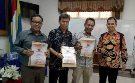 Selamat dan sukses atas penerimaan piagam penghargaan score SINTA (Science and Technology Index)