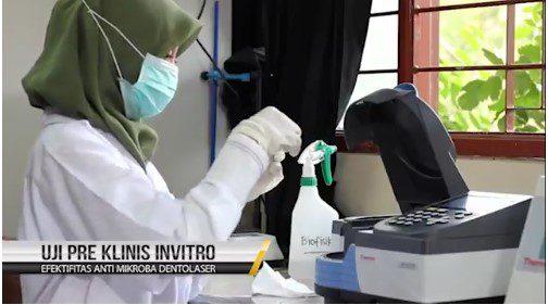 Video Profile Dento Laser Penelitian Dr. Suryani Dyah Astuti dari Teknobiomedik
