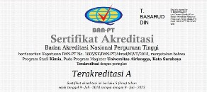Prodi Magister Kimia Terakreditasi A