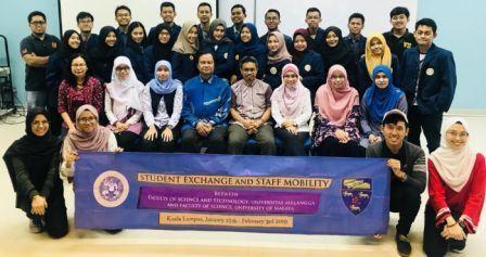Mahasiswa FST UNAIR Ikuti Program Mobilitas di Universiti Malaya