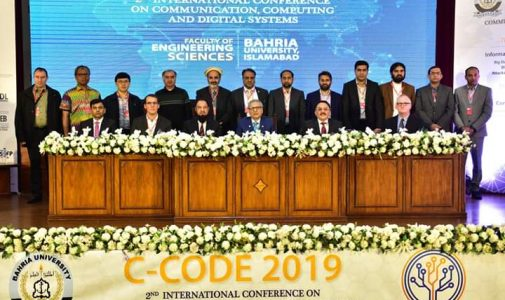 Dr. Eridani M.Si., Invited Speaker in an International Conference in Pakistan