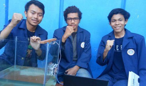3 Mahasiswa FST UNAIR Temukan Inovasi Pendeteksi Tsunami berbasis IoT