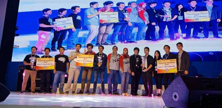 Mahasiswa FST Sabet Juara II di Kompetisi Jamkrindo Hackathon 2019