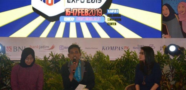 Mawapres UNAIR Berikan Motivasi pada Peserta AEE 2019