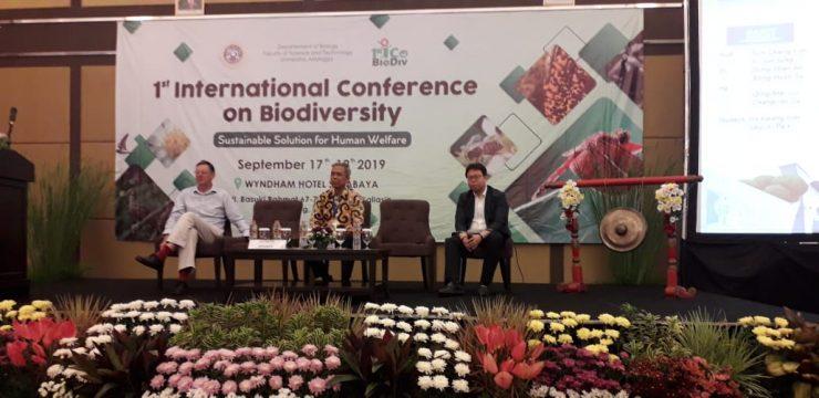 Departemen Biologi FST UNAIR Adakan Konferensi Internasional tentang Biodiversitas
