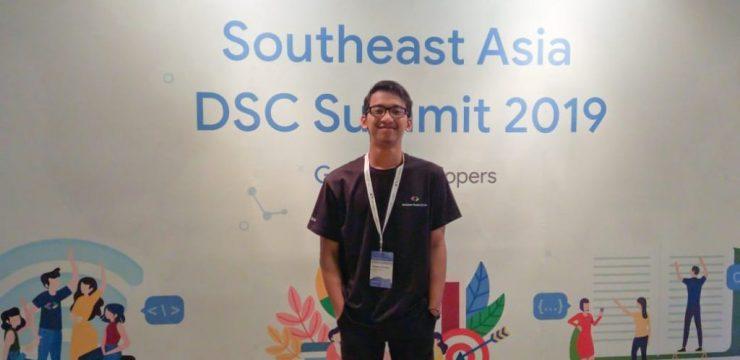 Mahasiswa FST Jadi Delegasi UNAIR di South East Asia Developer Student Club Summit 2019