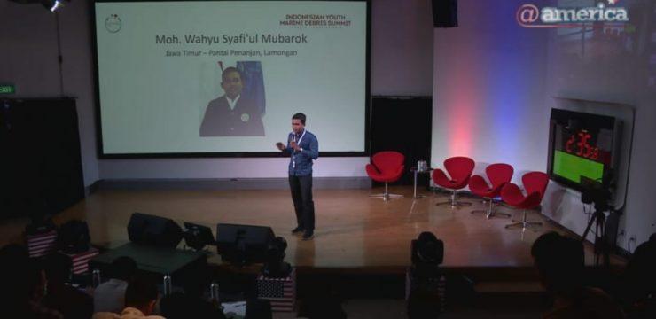 Pengalaman Wahyu Sepekan Ikuti Indonesian Youth Marine Debris Summit 2019
