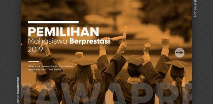 Pemilihan Mahasiswa Berprestasi 2019