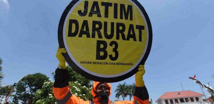 Pembuatan Ekosemen sebagai Upaya Pengurangan Limbah di Jawa Timur
