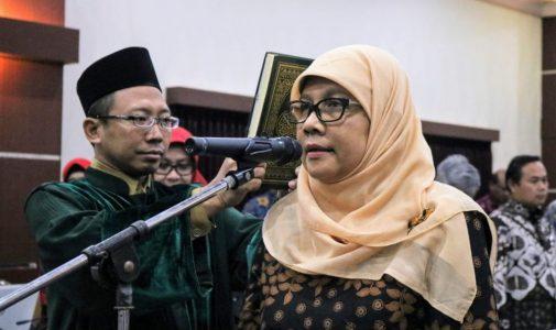 Guru Besar Biokimia FST Dilantik Menjadi Wakil Rektor I